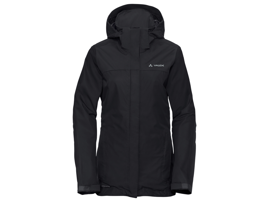 Vaude Womens Escape Pro Jacket II - Vandtæt dame jakke - Sort - Str. 46