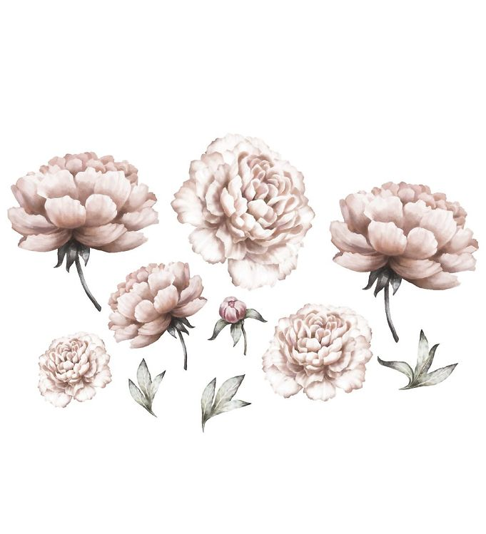 Thats Mine Wallstickers - Peony Flowers - Rosa