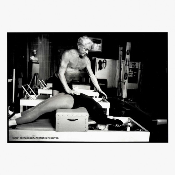Joseph Pilates Photographs - Short Box