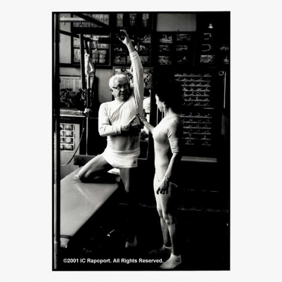 Joseph Pilates Photographs - Working Muscle